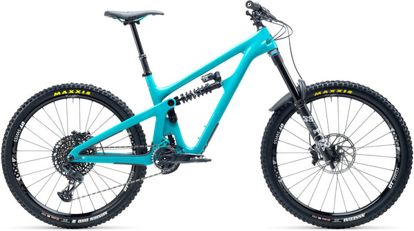 Yeti Cycles SB165 C2 Color: Turquoise