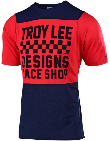 Details about  /Troy Lee Skyline Air Jersey Checkers Heather Blk//Heather Lt Moka 2X