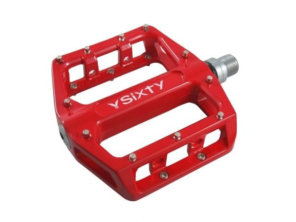 V-Sixty B-87 Pedals Color: Red
