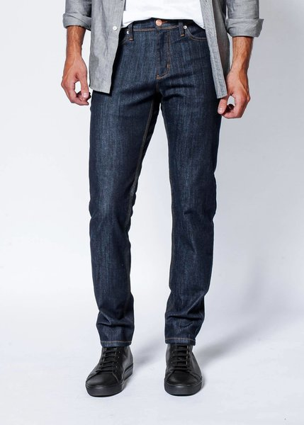 Du/er Performance Denim Slim Fit - Heritage Rinse