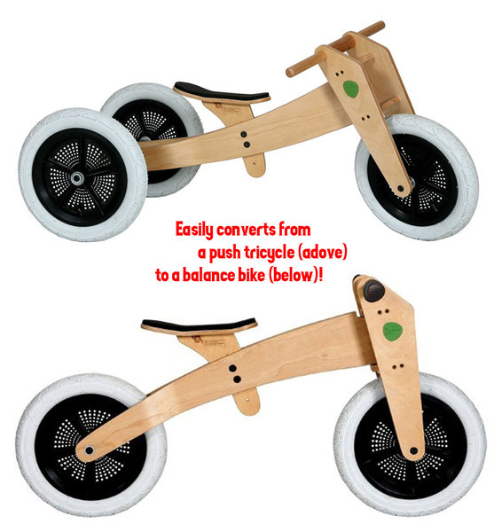 Wishbone Design 3in1 Bike