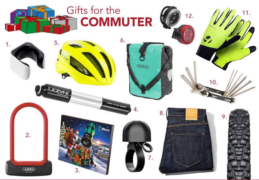 2020 biker's gift guide for commuters