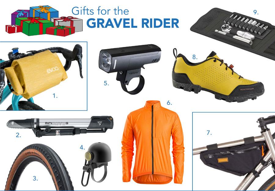 2020 biker's gift guide for gravel riders