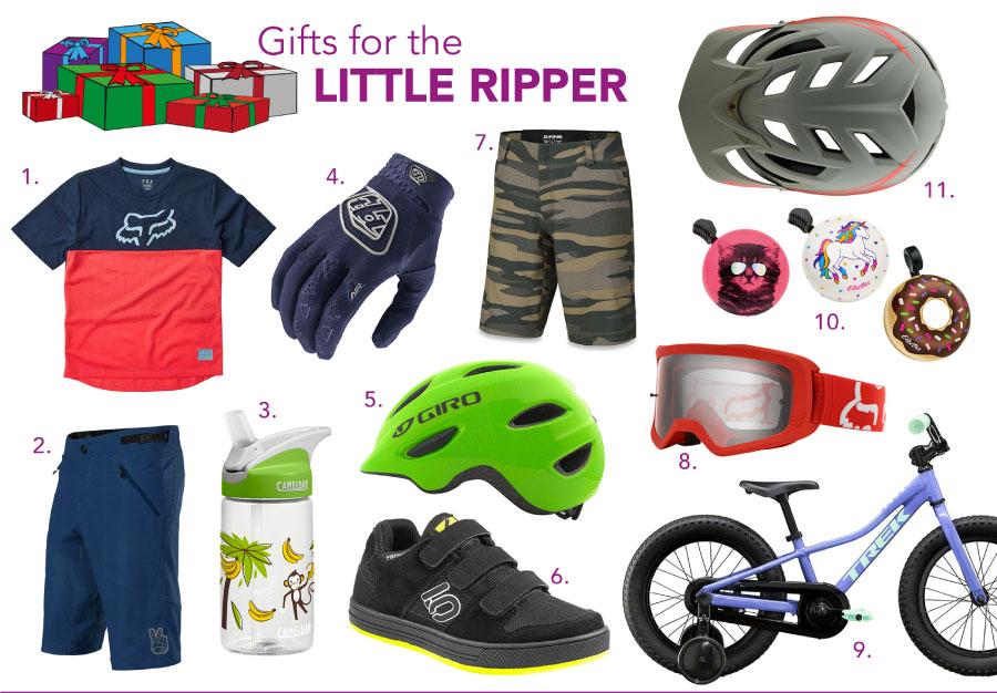 2020 biker's gift guide for kid's