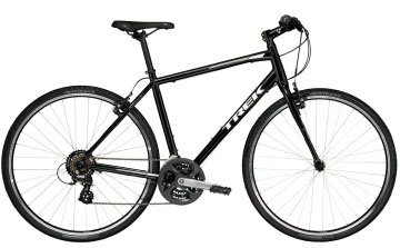 trek fx 1 fitness bike in black