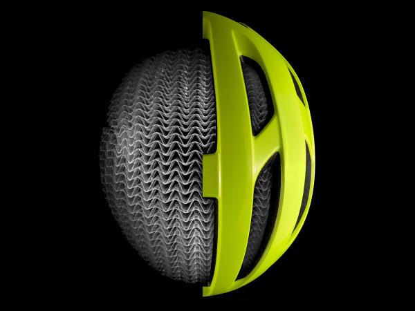 bike helmet with WaveCel technology