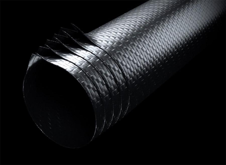 Yeti carbon fiber layup