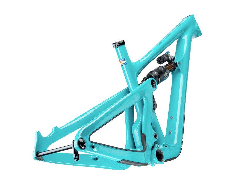 Yeti frame rear angle