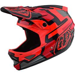 Troy Lee Designs D3 Fiberlite Speedcode Helmet