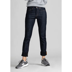 Du/er Women's All Weather Denim Slim Straight - Indigo