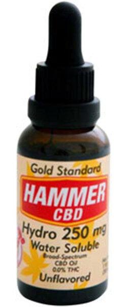 Hammer Nutrition Hammer Hydro CBD Hemp Oil, 250mg, Unflavored