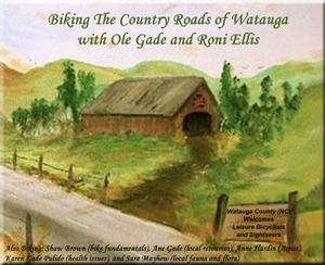 Biking The Country Roads of Watauga book cover.