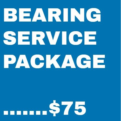 Bike Repair Bearing Service Package