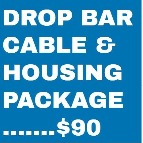 Bike Repair Drop Handlebar Cable and Housing Package