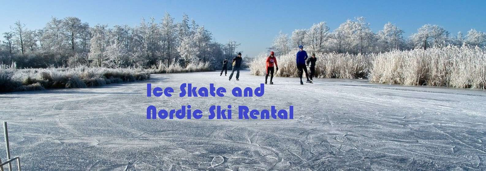 Cross Ski Rental, Nordic Ski, Ice Skate Rental