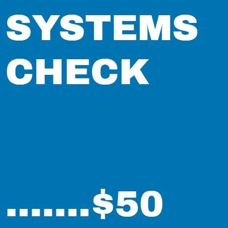Bike Repair Systems Check