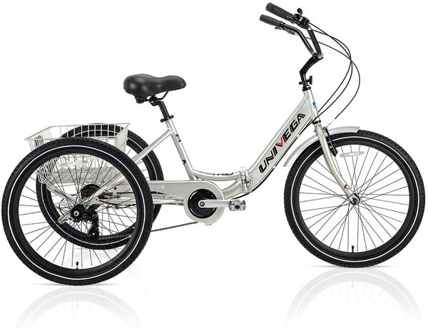 """Univega-USA 24"""" Viva Trio Adult Tricycle Price includes assembly and freight to the shop"""