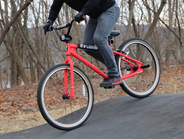 """Thruster 27.5"""" Dark Matter street style BMX bike Price includes assembly and freight to the shop"""
