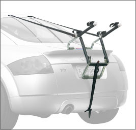 Allen 102D DELUXE 2 BIKE TRUNK MOUNTED CARRIER
