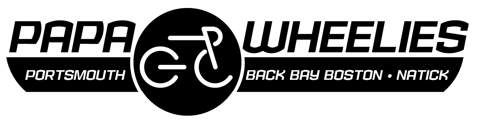 Papa Wheelies Bicycle Shops Logo