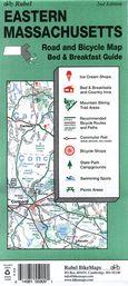 Rubel Eastern Massachusetts Bicycle Map