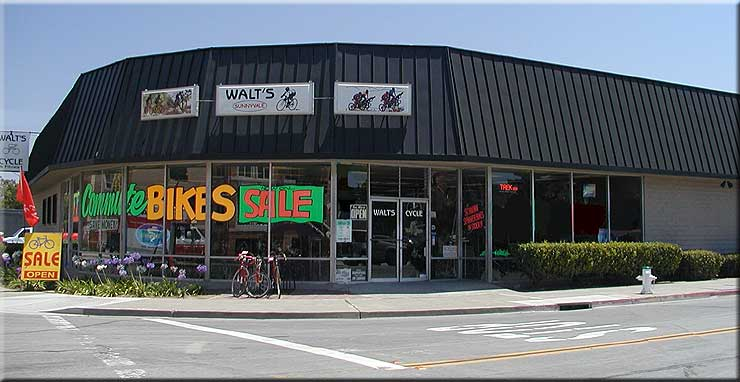 www.waltscycle.com, Walt's Cycle, Sunnyvale, California, Since 1953