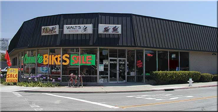 www.waltscycle.com, Walt's Cycle, Sunnyvale, California, Since 1953