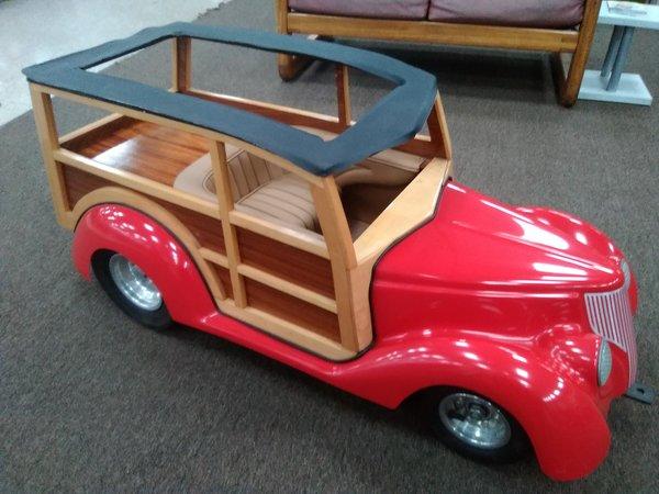Custom Built - Woody Carnival Car