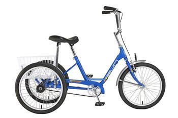 "Miami Sun 20"" Adult Trike. Freewheel w/ Front Hand Brake. Walt's Cycle, Sunnyvale, CA"