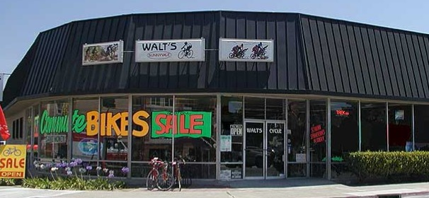 Walt's Cycle storefront