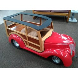 Custom Built - Woody Carnival Car