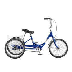 Sun Bicycles Traditional Trike 20 Deluxe (5-Speed)