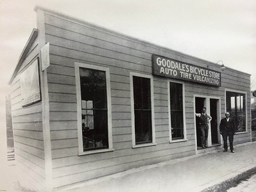 Goodales Bike Shop history