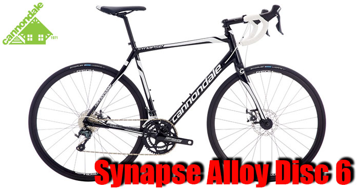 Cannondale Synapse Alloy Disc 6 Bike Rental