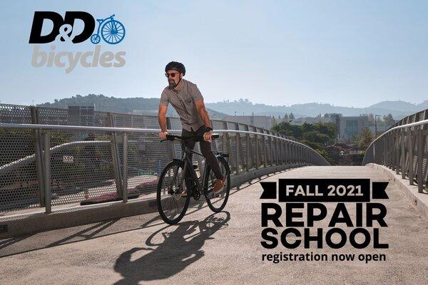 D&D Intensive Bike Maintenance Class