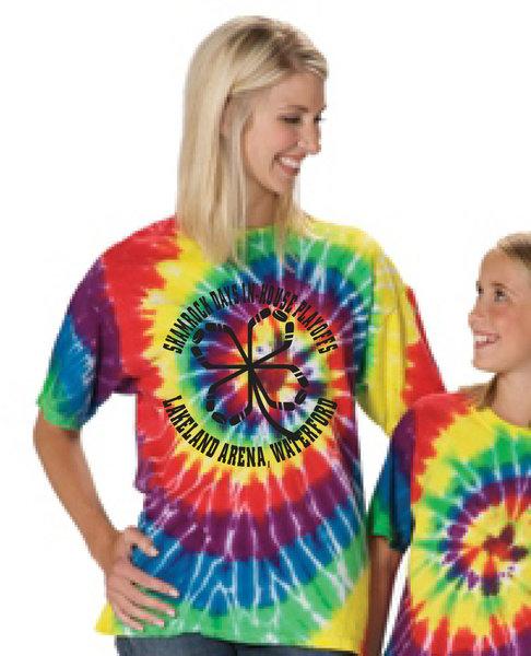 Lakeland Shamrock Shirt - Multi-Spiral Tee