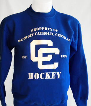 Detroit Catholic Central Closeout Youth Fleece Crew