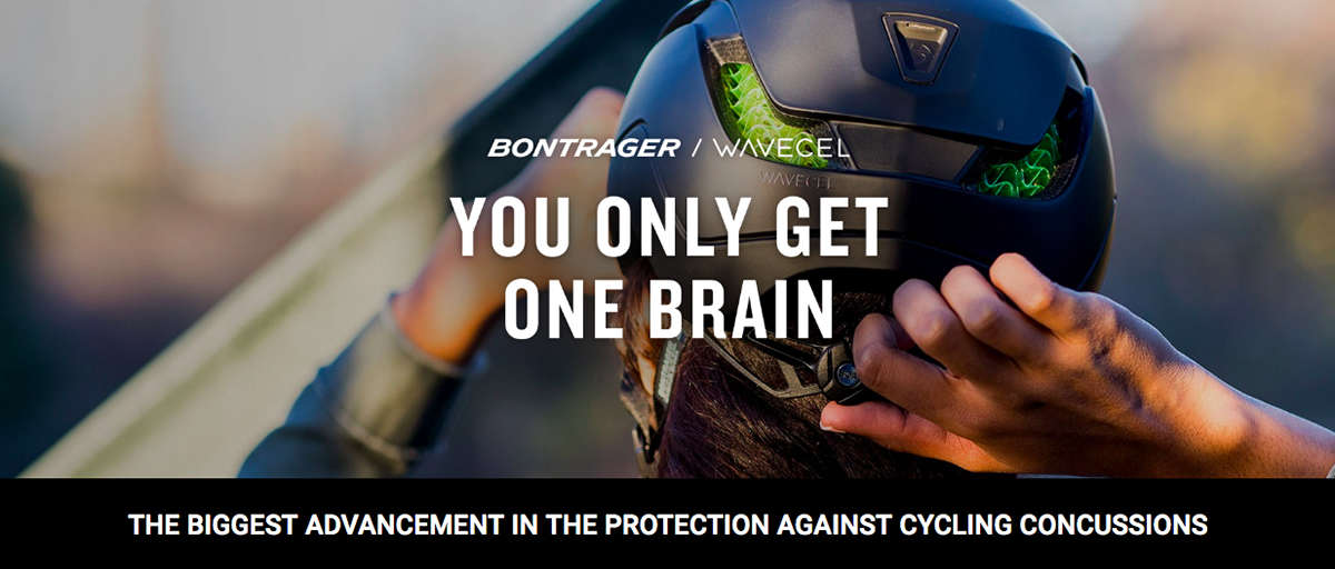 Bontrager Wavcel: The biggest advancement in the protection against cycling concussions. You only get one brain.
