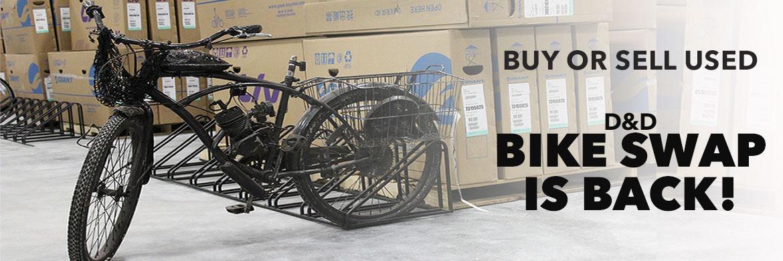 D&D Bike Swap