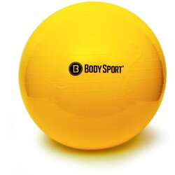 Fitness ball 65cm yellow