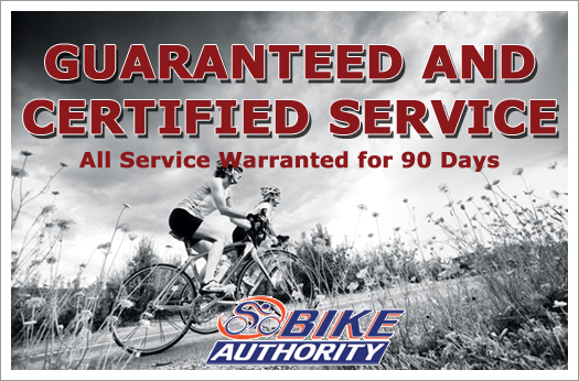 All service is both guranteed and certified!