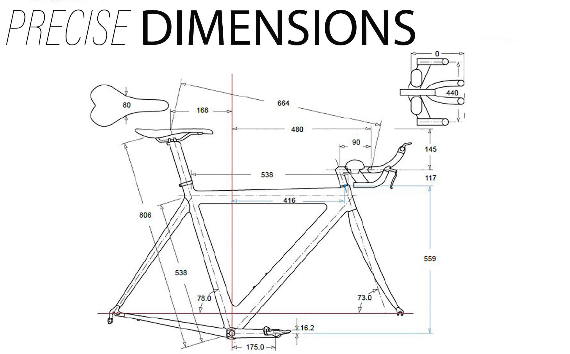 Bike Fit measurements screenshot