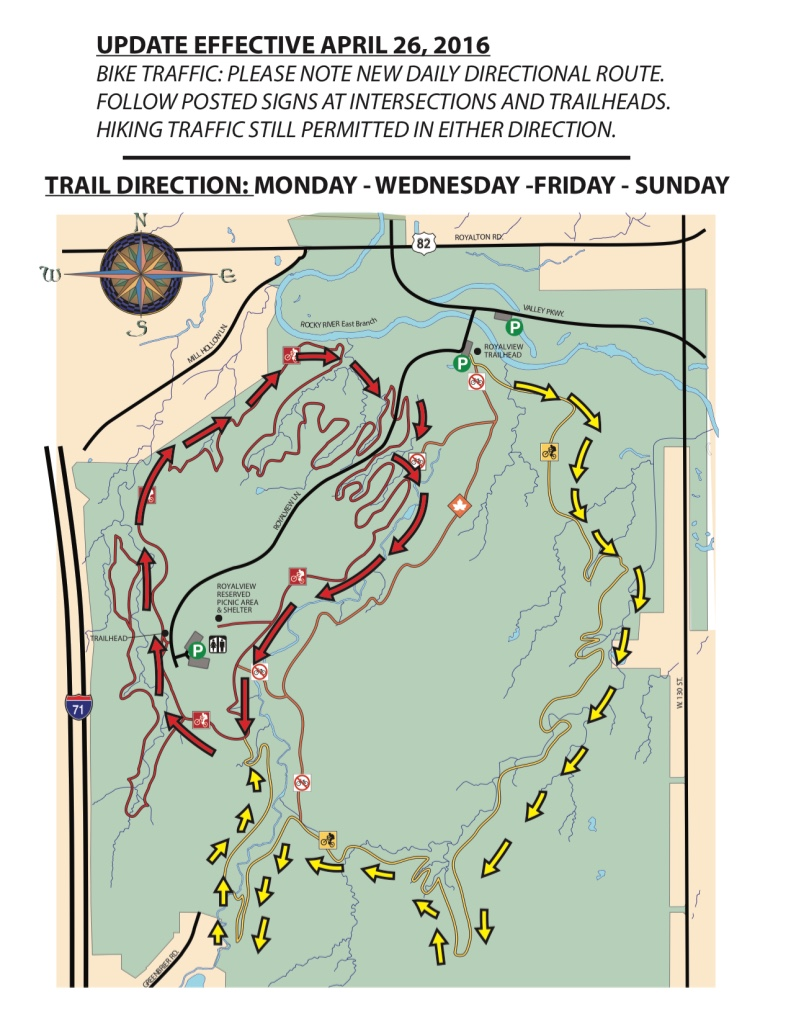 Royalview Directional Trail Map 1
