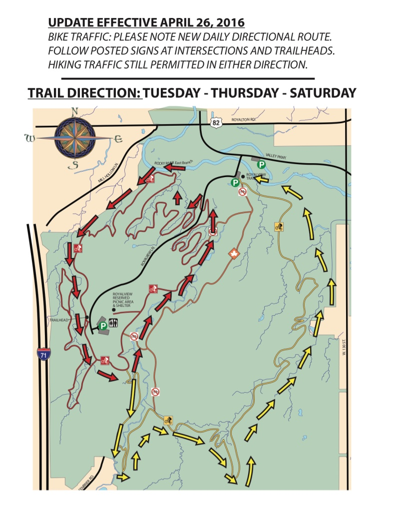 Royalview Directional Trail Map 2