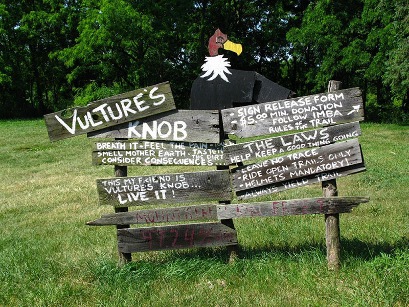 Vultures Knob Mountain Bike Trail Photo 7