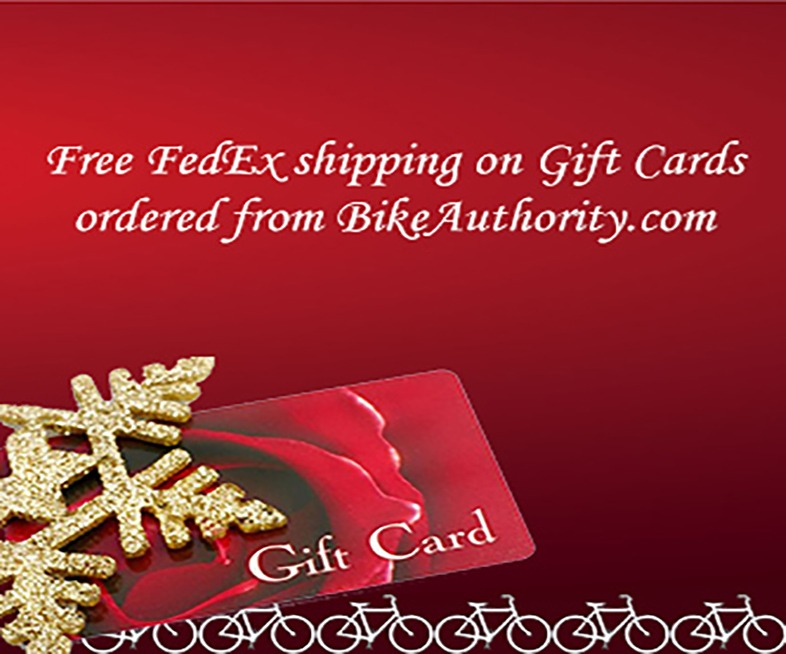 Free FedEx shipping on Gift Cards