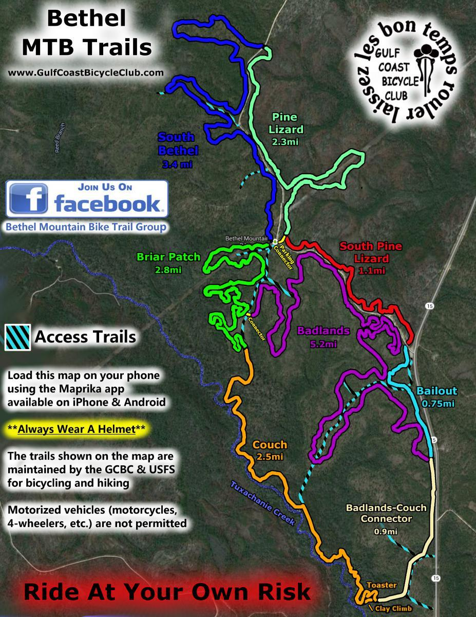 Bethel Mountain Bike Trails