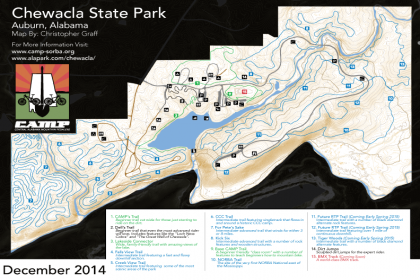 Chewacla State Park - Mountain Bike Trail