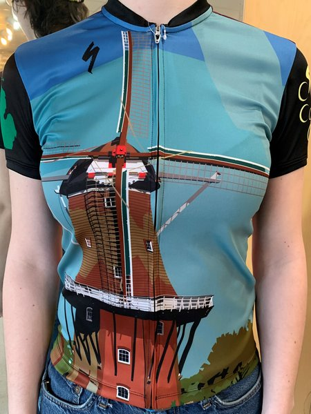 Cross Country Cycle De Zwaan Windmill RBX Jersey Womens