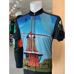 Cross Country Cycle De Zwaan Windmill RBX Jersey Mens